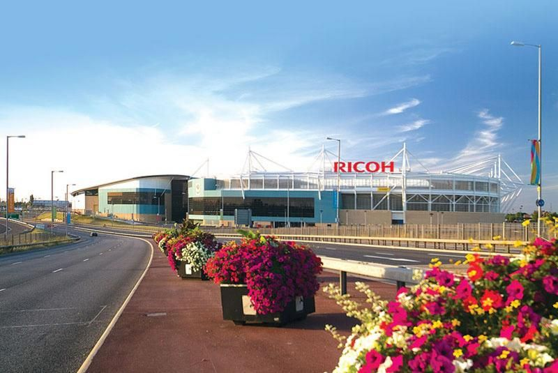 Top venues attract top acts '?? like SPATEX 2015, Coventry City FC is returning to the Ricoh Arena!