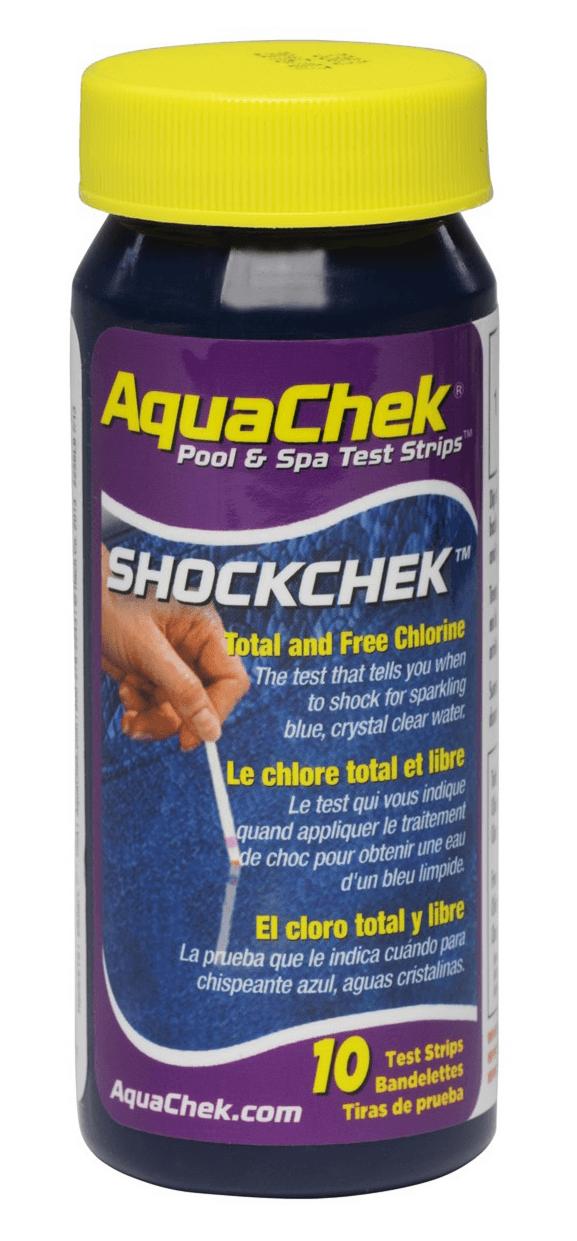 AquaChek® ShockChek'?' '??The Test That Tells You When to Shock'??