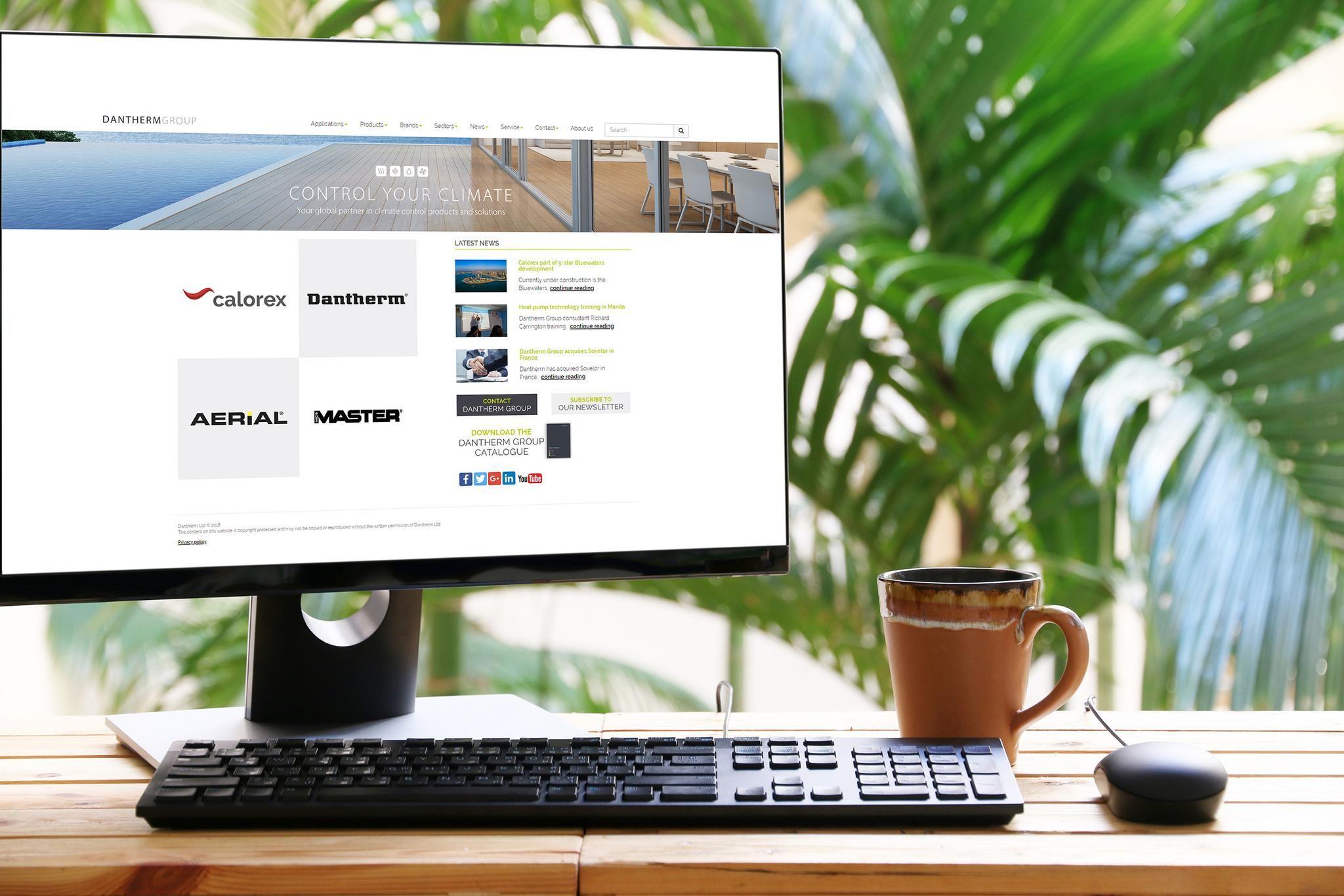 Calorex website becomes danthermgroup.co.uk