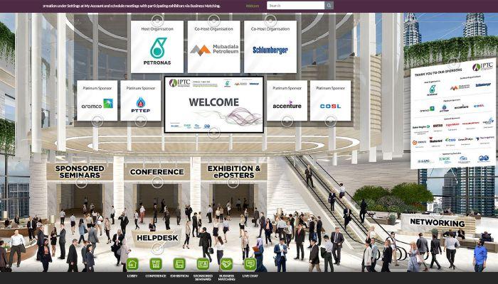 IPTC 2021 Virtual Lobby