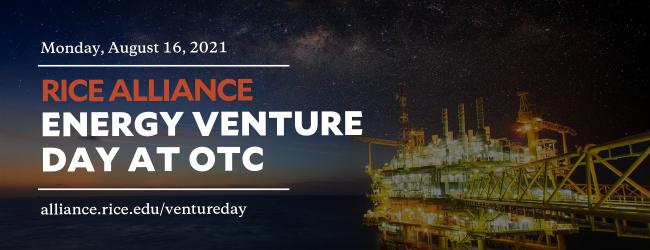 Rice Alliance Venture Day Graphic