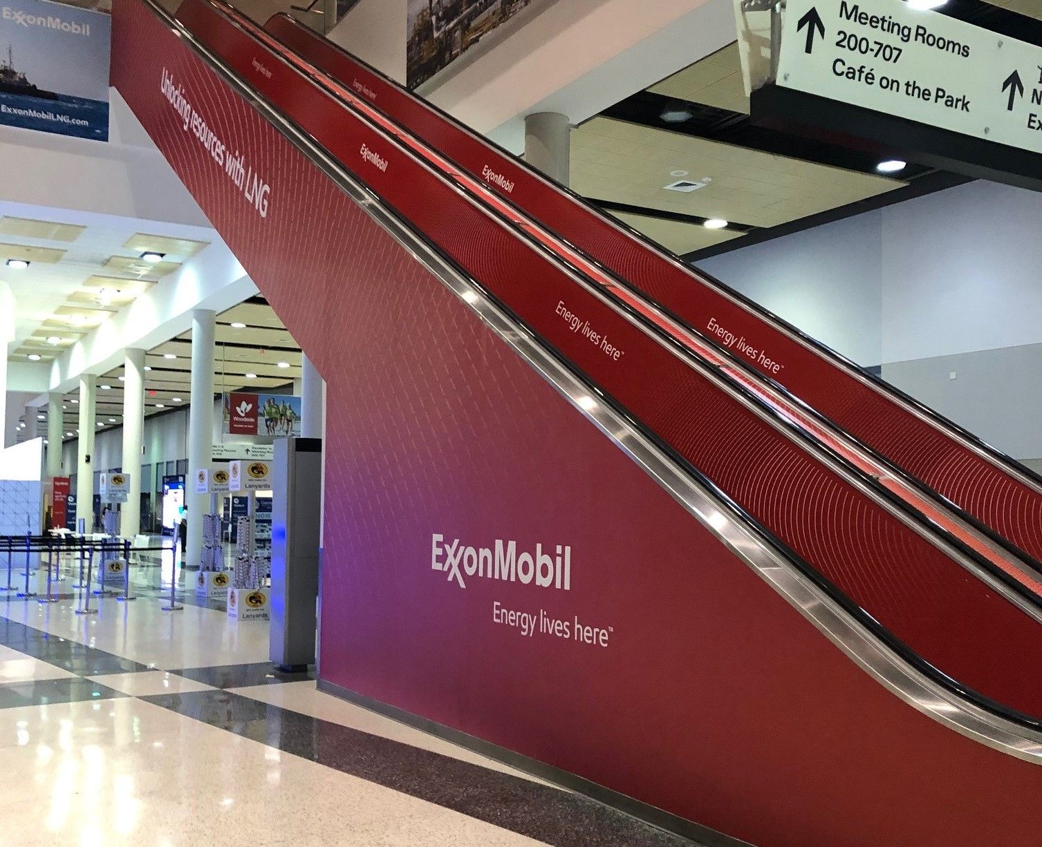 Escalator Panels Inside and Outside