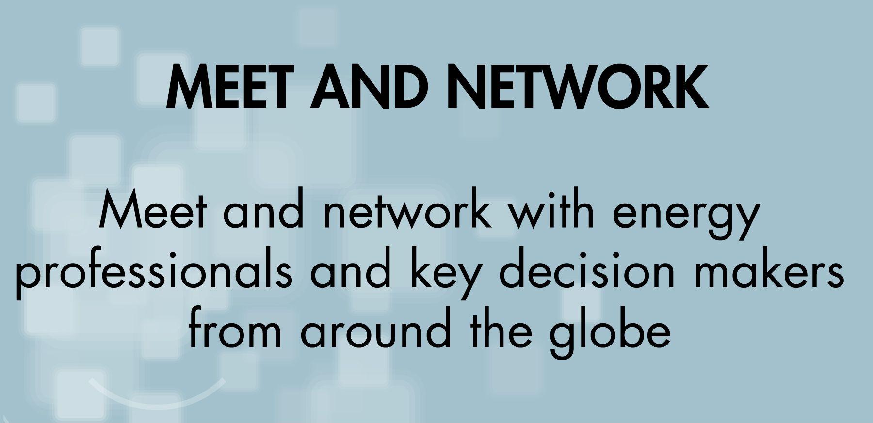 MEET & NETWORK