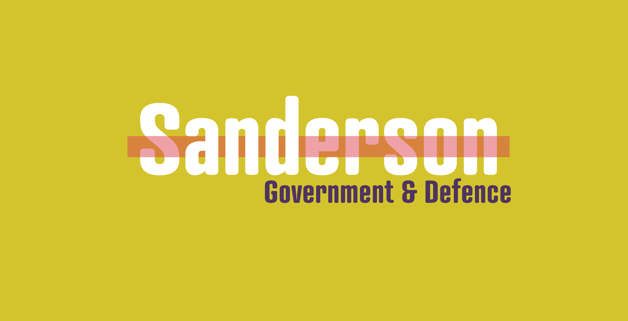 Sanderson Government and Defence