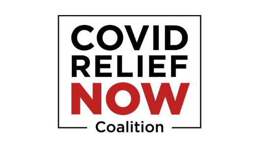 COVID RELIEF NOW logo
