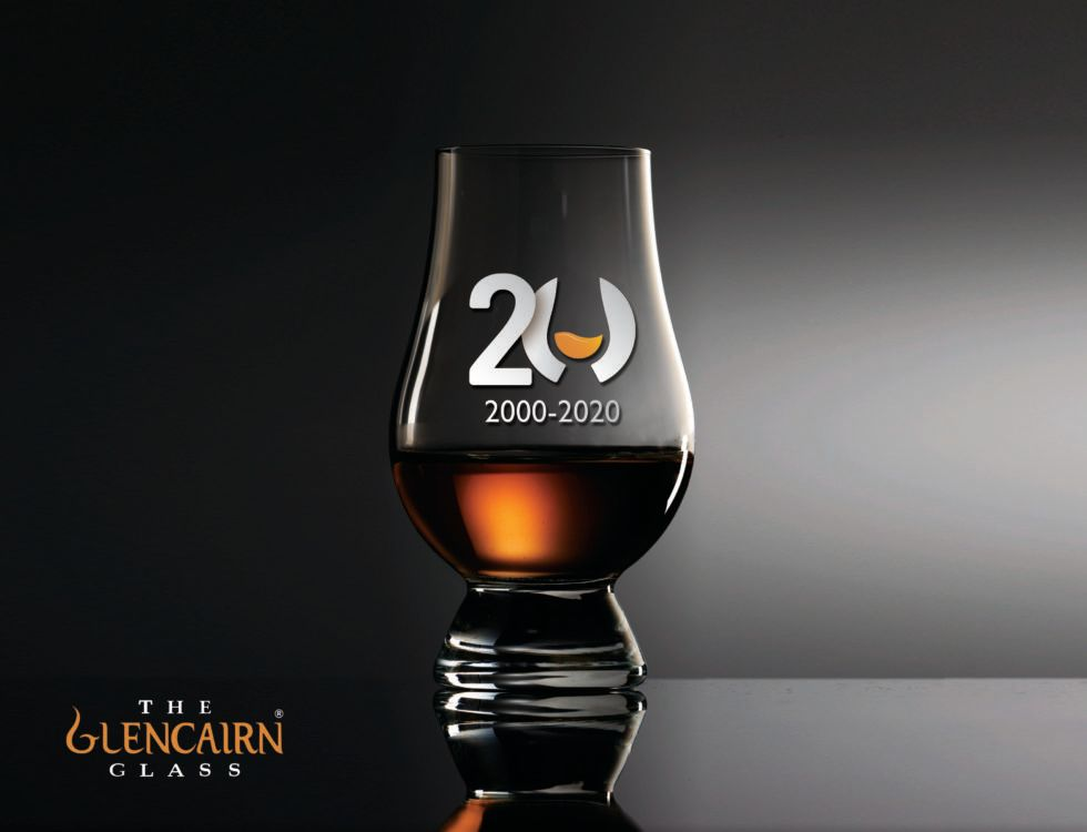 Glencairn Crystal to pay tribute to 20 years of The Glencairn Glass – the world's favourite whisky glass