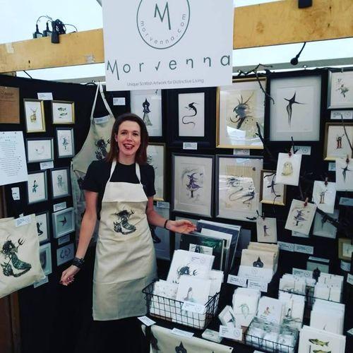 Morvenna joins Scotland's Online Trade Fair 2021.