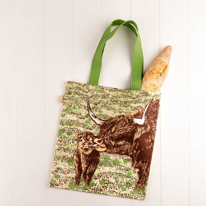 NEW Highland Cow Love Tote Bag