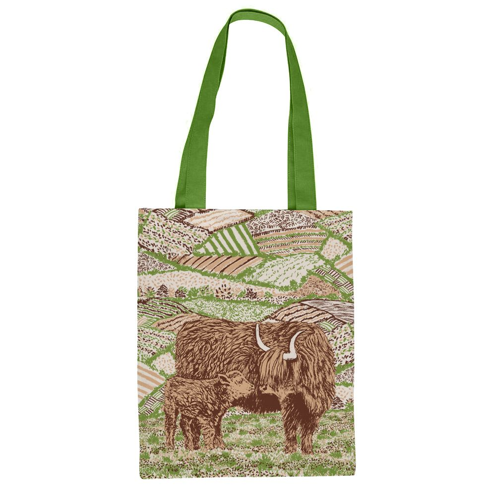 NEW Highland Cow Tote Bag