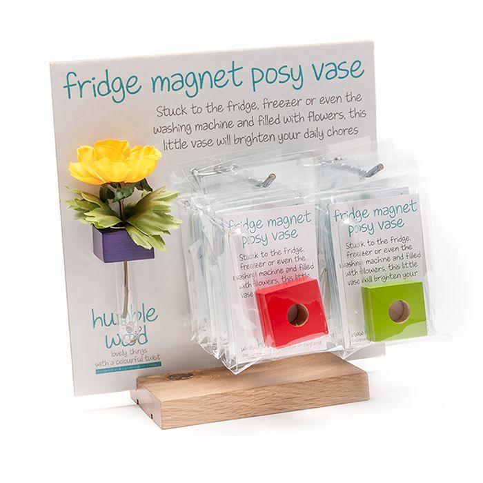 Fridge Magnet Posy Vase