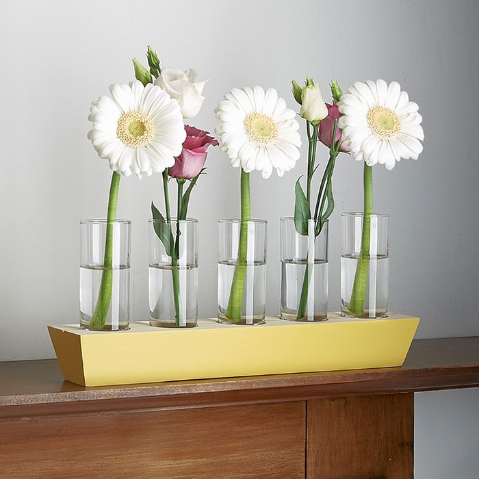 Five-in-a-row vase