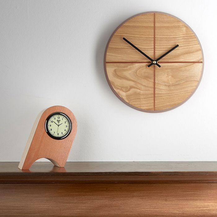 A Quarter-too wall clock