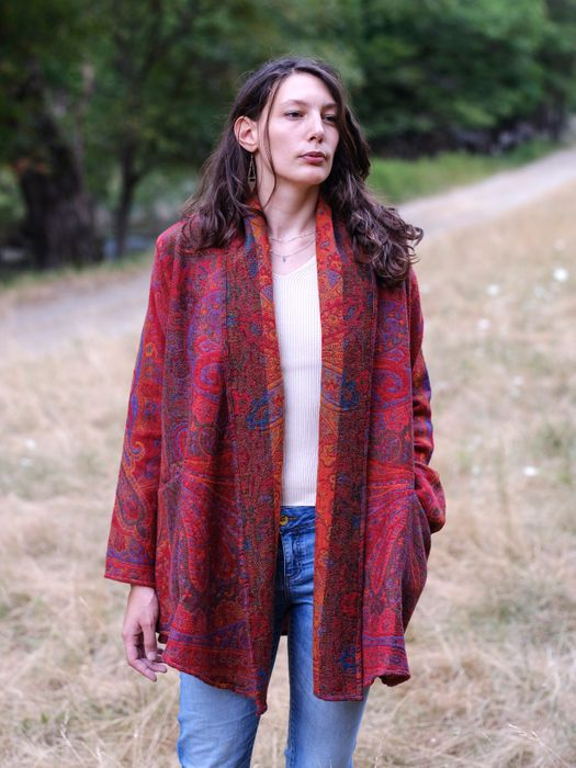 Cosy Paris Boiled Wool – Open Coat