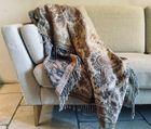 Women Wool Plaid Shawl- Romance