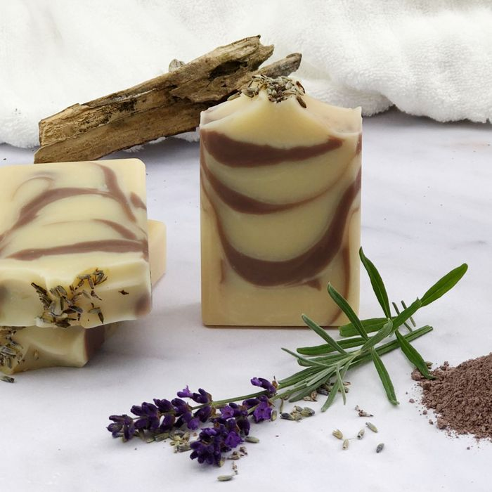 Lavender Woods handcrafted organic soap