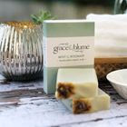 Mint & Rosemary organic handcrafted soap