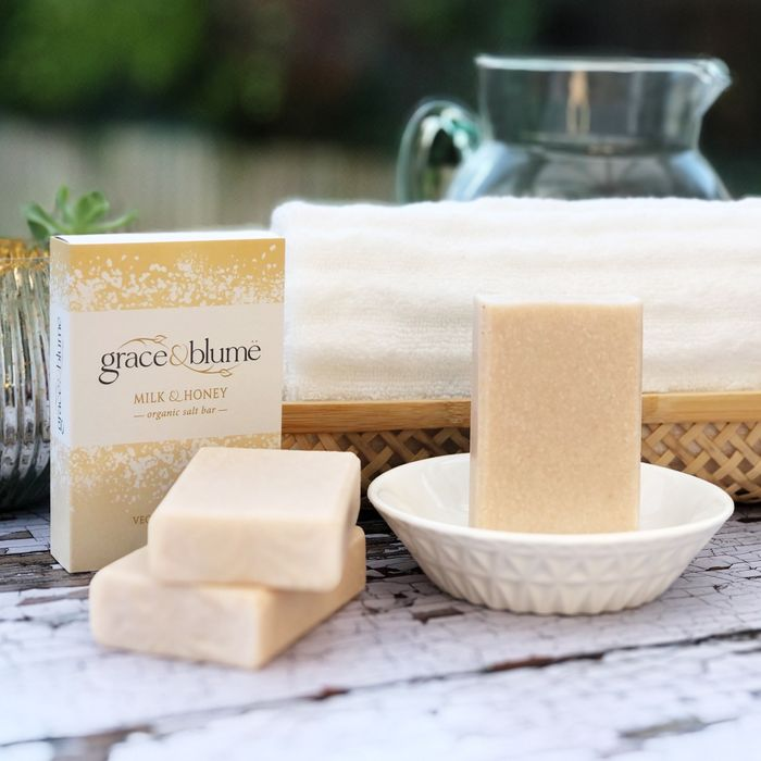 'Milk & Honey' organic salt bar