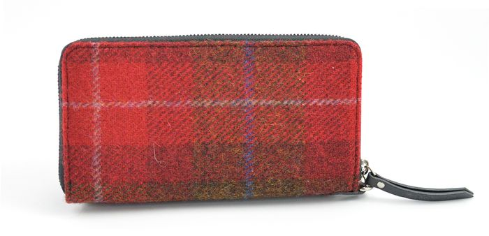 Harris Tweed Travel wallet and Document holder