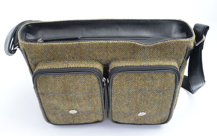 Harris Tweed Satchel/Messenger bag