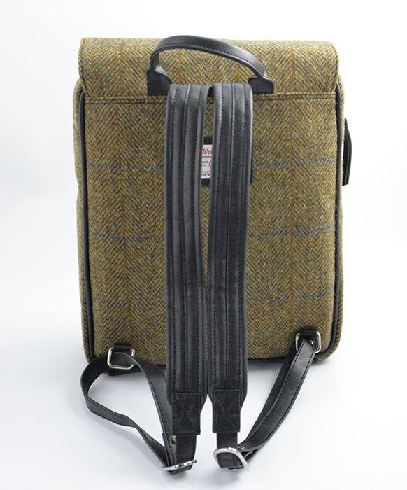 Harris Tweed large backpack
