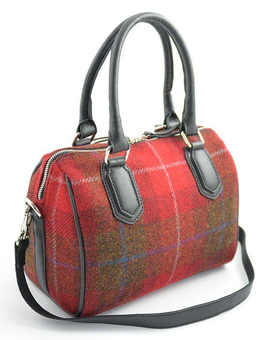 Harris Tweed Ladies Bowling bag