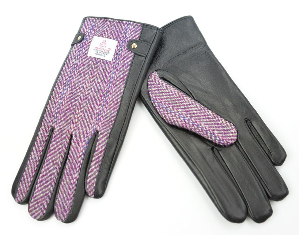 Harris Tweed Ladies Gloves