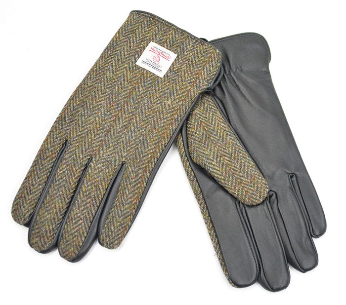 Harris Tweed Mens Gloves