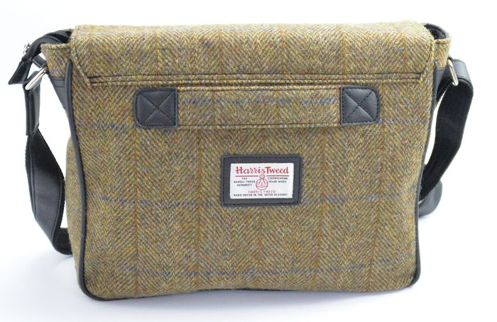 Harris Tweed Large Satchel/Messenger Bag