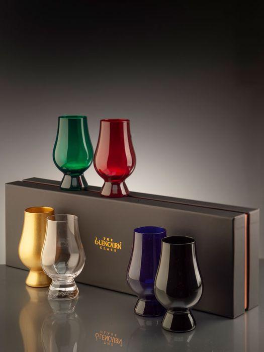 The Glencairn Coloured Glass Range