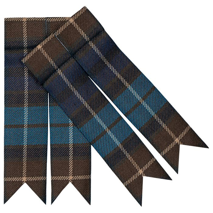 Garter and Tartan Flashes
