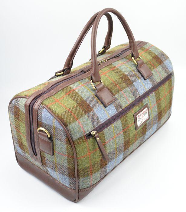 Harris Tweed Travel bag