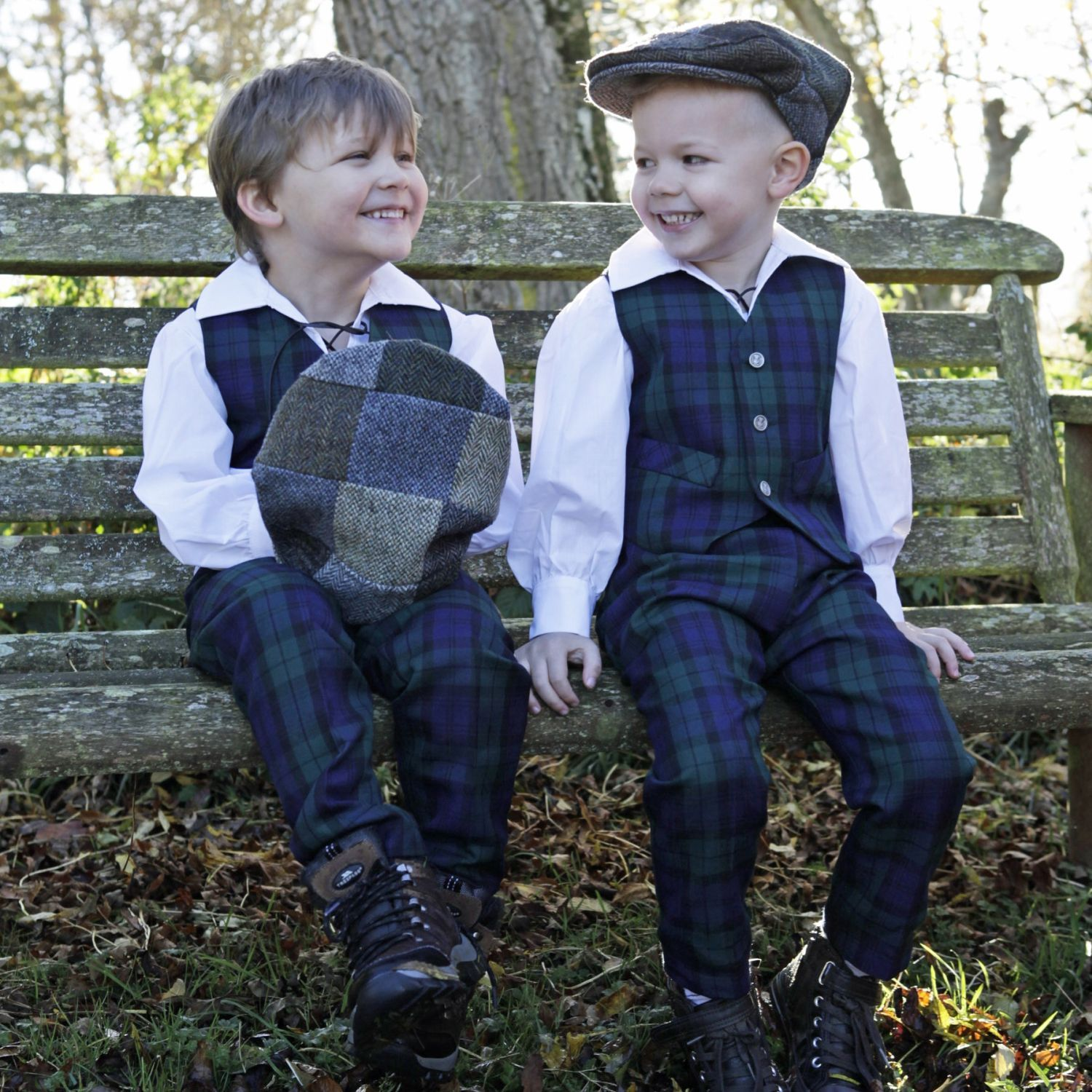 Children's Tartan Clothing - Made in the UK