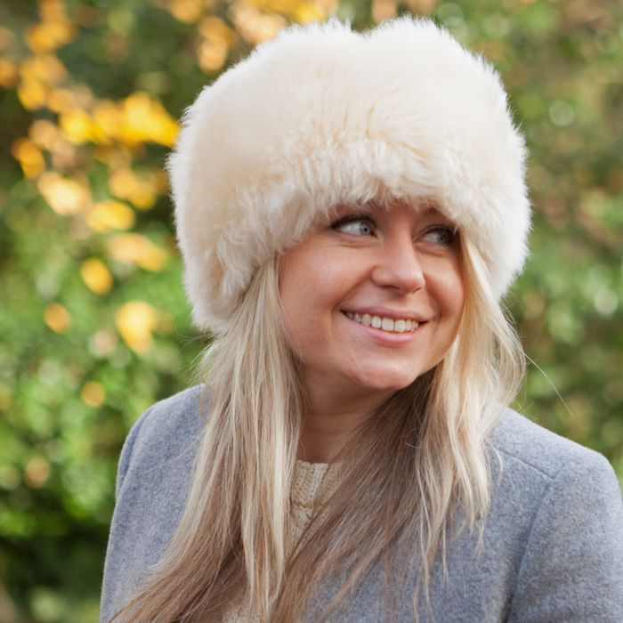 Snow Queen Real Sheepskin Hat