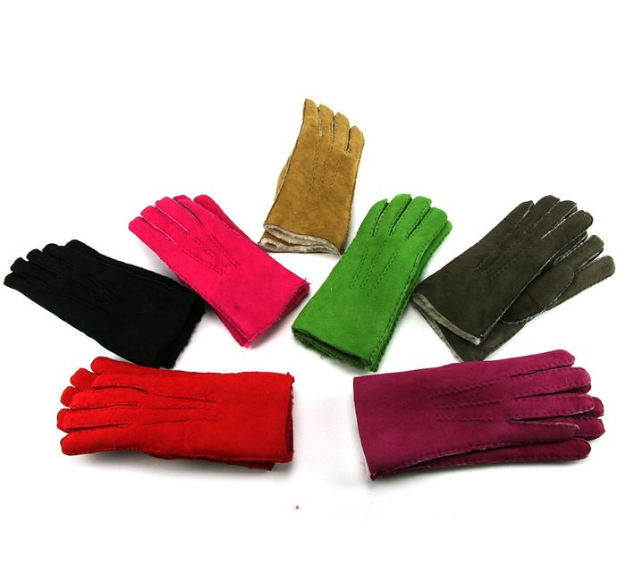 Hand Sewn Real Lambskin Gloves