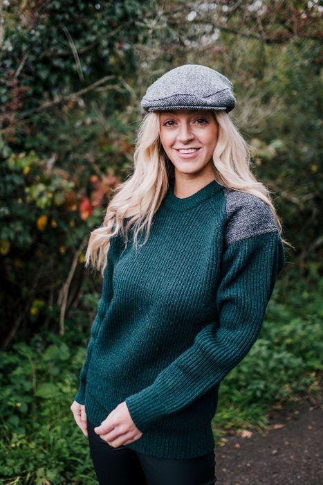 Unisex Harris Tweed Patch British Wool Jumper