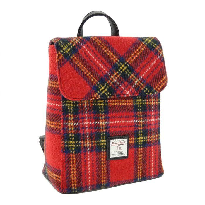 Harris Tweed 'Tummel' Mini Backpack