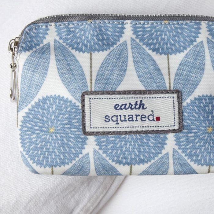 Earth Squared Cornflower Blue Oil Cloth