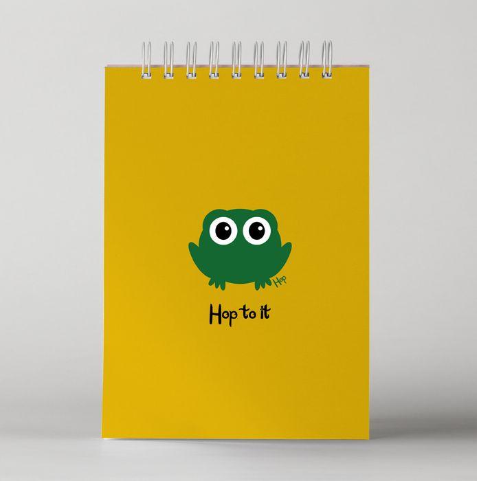 Cheez 'n' Pickle & friends A5 wire bound rainbow page notebooks