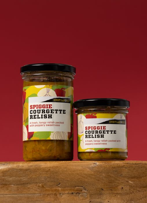 Spiggie Courgette Relish