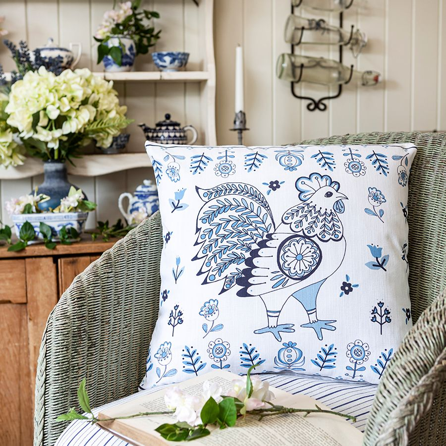 Delft cushion collection