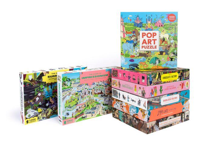 1000-piece Jigsaw Puzzles