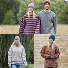 JUMPERS.  The new eco fleece!  Easy and warm to wear mid layer.