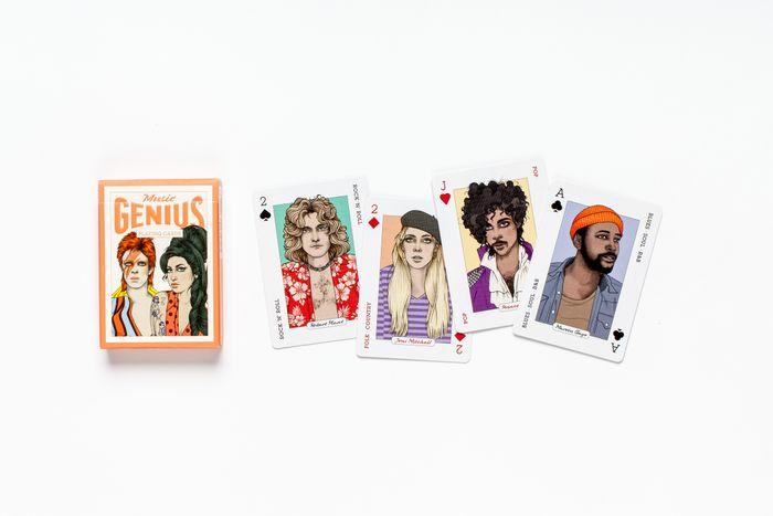 Genius Playing Cards series