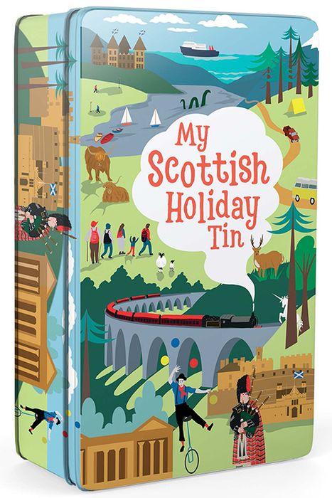 My Scottish Holiday/Nature Tin