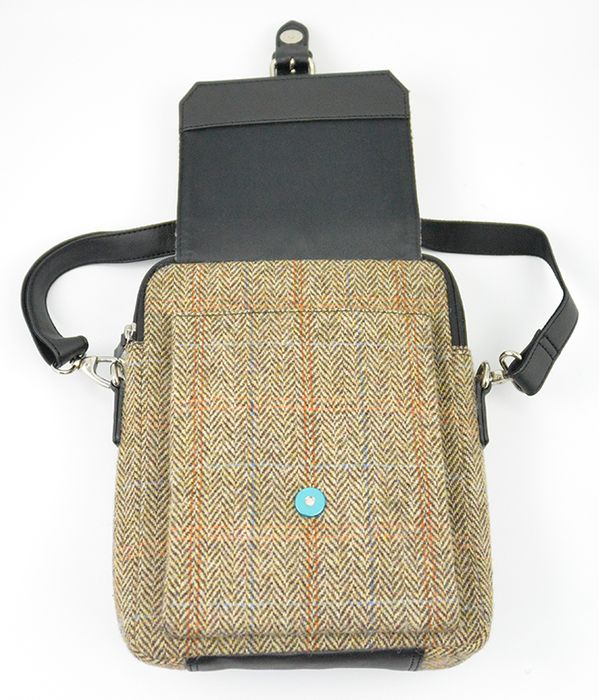 Harris Tweed Mini satchel bag
