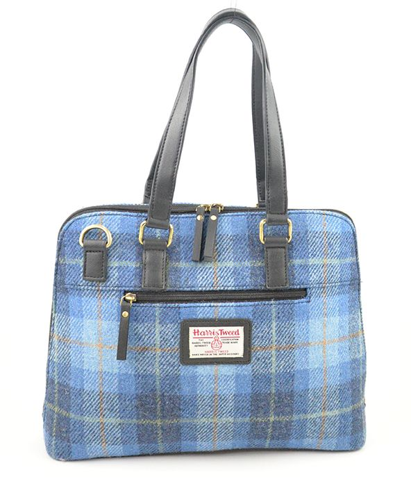 Harris Tweed Ladies work bag with laptop/tab compartment