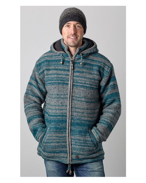 RANDOM STRIPE HOODED JACKETS.  Great for all age groups.