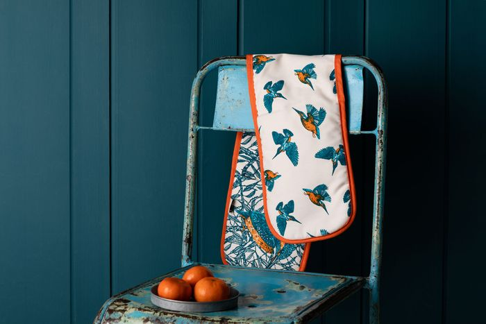 Kingfisher Double Oven Gloves