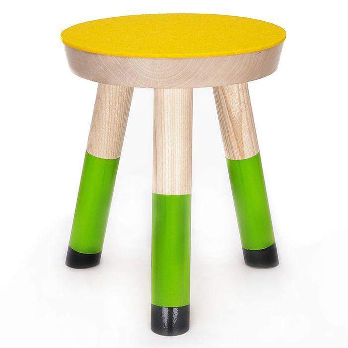 Bertie, 3-legged stool