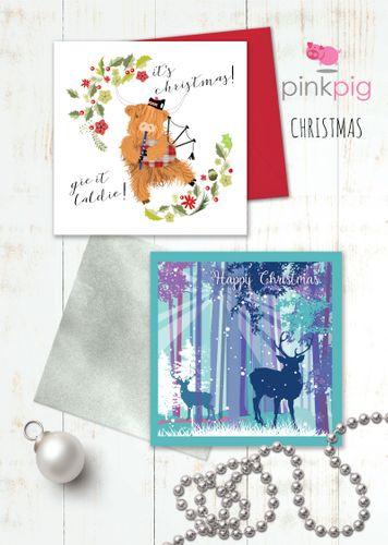 Pink Pig Christmas